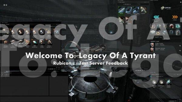 Legacy Of A Tyrant: Rubicon SiSi