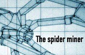 Pók Bányász robot
